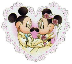 Mickey and Minnie Wedding | back to mickey s clipart mickey s pals black n white disney babies ...