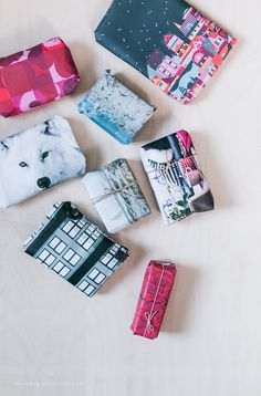 NO HOME WITHOUT YOU  » DOOR 4: RECYCLED GIFT WRAPPING