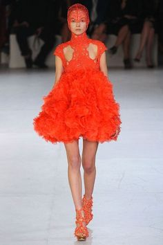 """Explore """"Tangerine Tango"""", a vivacious reddish orange, one of this years top trending colors, from Pantone's Spring/Summer 2012 Color Trends."""