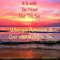 Heart and love quote via www.Facebook.com/WatchingWhales