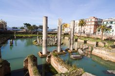 Ancient Roman Concrete Is About to Revolutionize Modern Architecture Roman Temple in Pozzuoli, Bay of Naples, Italy