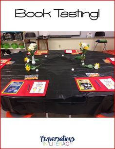 How to Host a Book Tasting Party!