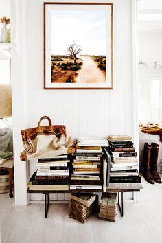 Bøker, fotokunst, Kara Rosenlund