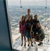 Sky Deck Chicago donates 4 tickets to the Sky Deck. A $72 value.  Send your request through the Contact Form. If approved they will request your IRS determination letter or other document to validate your group. They will mail the donation about a week prior to your event.