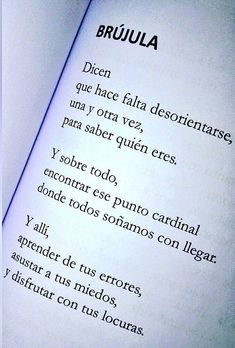 Vida - desorientarse - destino - quién soy - encontrarse - felicidad All Quotes, Words Quotes, Book Quotes, Quotable Quotes, Motivational Quotes, Life Quotes, Words Can Hurt, Quotes En Espanol, Magic Words
