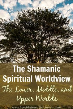 The 3 spiritual worlds within the context of the shamanic worldview. Get it broken down for you - from top to bottom. #GeorgeTupak