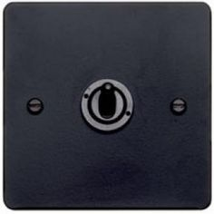 Black forged sockets & switches, Forged plate switches, Industrial switches and sockets, Light bulbs & switches, Holloways of Ludlow