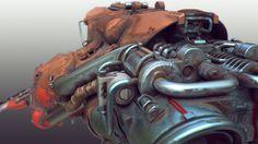 ArtStation - Scifi speeder, Tor Frick