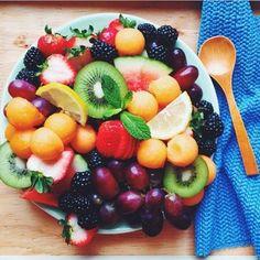 fresh fruit.