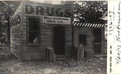 Bell-Borman Drug Co. 1906-07. Postcard.