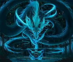 The spirit of a dragon can be summoned trough belief and purness
