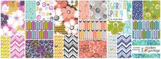 Garden Party Fabric Collection by Heather Dutton @Modern Yardage