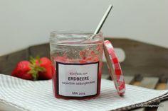 Einfach nur selbstgemachte Erdbeer-Marmelade, ganz pur