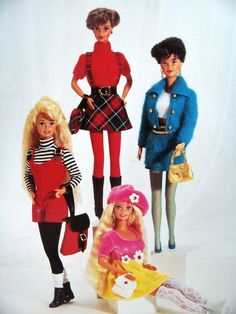 Cute Barbie redresses- had every one of them!