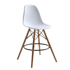 Woodleg Counter Chair - Round Base $244.99 www.mundyshops.com The Woodleg Counter Chair is a truly comfortable chair, it has a high flexible back with good 'give' and a deep seat pocket supported by an elegant Wood/Wire Base.