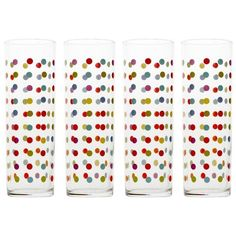 15 Patterned Glasses to Perk up Your Dinner Table