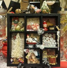 box A Christmas Curiosity Box - this is so cute....I'd like to try this