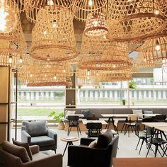 cozy coffee in switzerland Cozy Coffee, Valance Curtains, Switzerland, Chandelier, Ceiling Lights, Interior Design, Home Decor, Interior Decorating, Interior Designing