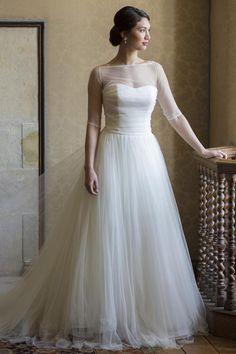Brautkleider im gehobenen Preissegment | miss solution Bildergalerie - Diana by AUGUSTA JONES