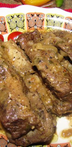 Talk about tender, melt in your mouth exquisite flavor! Darrell's mustard short ribs do not come up short in any way! (Darrell does though, at about lol) Italian Beef Recipes, Top Secret Recipes, Paleo, Keto, Melt In Your Mouth, Roasting Pan, Short Ribs, Slow Cooker, Mustard