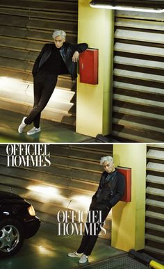 TOP | L'OFFICIEL HOMMES JANUARY '15 ISSUE