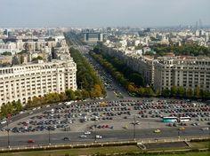 Beautiful Park, Beautiful Places, Capital Of Romania, Palace Of The Parliament, Romania Travel, Bucharest Romania, Culture Travel, Eastern Europe, Paris Skyline