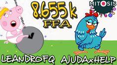 Mitosis the Game - Peppa Pig e Galinha Pintadinha dominando no Free for ...