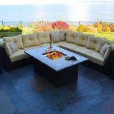 Found it at Wayfair - South Beach 12 Piece Fire Pit Seating Group with Cushion