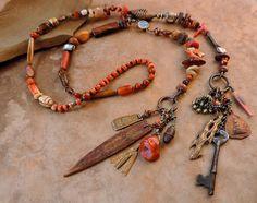 Spirit Beads Lariat Necklace for Meditation by deserttalismans, $485.00
