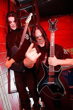 Mick Thomson & James Root (Slipknot)