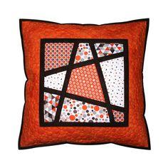 MAGICKÝ ŠTVOREC Taupe, The 100, Throw Pillows, Quilts, Blanket, Orange, Handmade, Scrappy Quilts, Beige