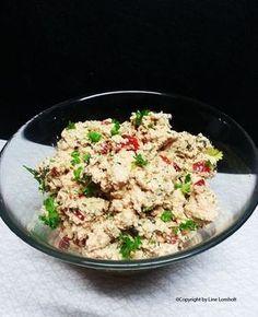 Torskerognssalat med krydderurter og grøntsager