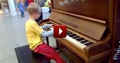A Random Boy Sat Down at a Piano Displayed in a Train Station. What He Did Was Awesome.