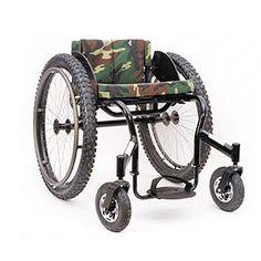 Top End Crossfire All-Terain (Handbewogen Off-Road rolstoel Manual Off-Road Wheelchair)