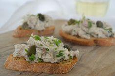 Eet lekker: Makreelsalade met kappertjes en bieslook
