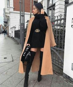 Winter Fashion Outfits, Look Fashion, Trendy Fashion, Winter Outfits, Fashion Styles, Fashion Clothes, Clothes Women, Grunge Fashion, Fashion Women