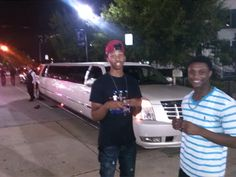 Rapheal and Blaze after a concert