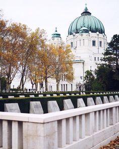 Central cemetry in vienna Ich war das erste Mal amhellip Vienna, Winter, Travel Inspiration, Taj Mahal, Building, Dry Skin, Alone, Nature, Tips