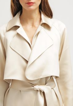 Tibi Trenchcoat - sand/white multi for £900.00 (19/01/16) with free delivery at Zalando