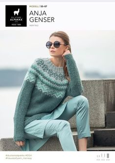 Søkeresultater for «Anja genser Jumper Patterns, Knit Patterns, Icelandic Sweaters, Knitting Machine Patterns, Fair Isle Knitting, Knitting Designs, Diy Clothes, Knitwear, Knit Crochet
