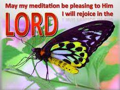 Leef je geloof: Denk met vreugde aan de HERE