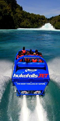 Take the ride of your life on the Huka Jet - Taupo, NZ http://princemotorlodge.co.nz Luxury Accommodation in Taupo New Zealand