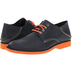 I think I need these... Appropriate for business (an oxford!) with a splash of Orange.