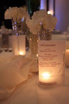 Tischdeko Hochzeit bei Bökamp in Rietberg - Hochzeitssaal Rietberg - Festssaal