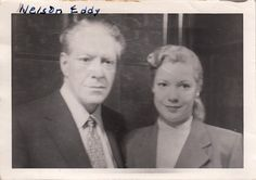 Nelson Eddy and Gale Sherwood