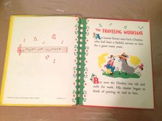 The Traveling Musicians A Bonnie Book Copyright 1946 illus by Dolli Tingle