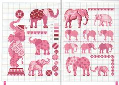 patterns are in russian, really like the use of one color in different shades- maybe I'll make an Elephant for Elizabeth