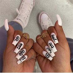 In search for some nail designs and ideas for your nails? Listed here is our list of 37 must-try coffin acrylic nails for trendy women. Drip Nails, Bling Acrylic Nails, Aycrlic Nails, Swag Nails, Pink Nails, Glitter Nails, Hot Nails, Coffin Nails, Weed Nails