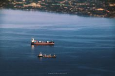little ships cebu city sea ocean water boat cargo miniature tilt shift tiltshift cebusugbo team pilipinas pinoy centric pipho flickr photographers photography teenager john galeos sy canon 600d visayas south asia southeast asians