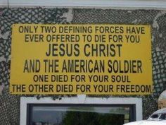 Jesus and the American Soldier